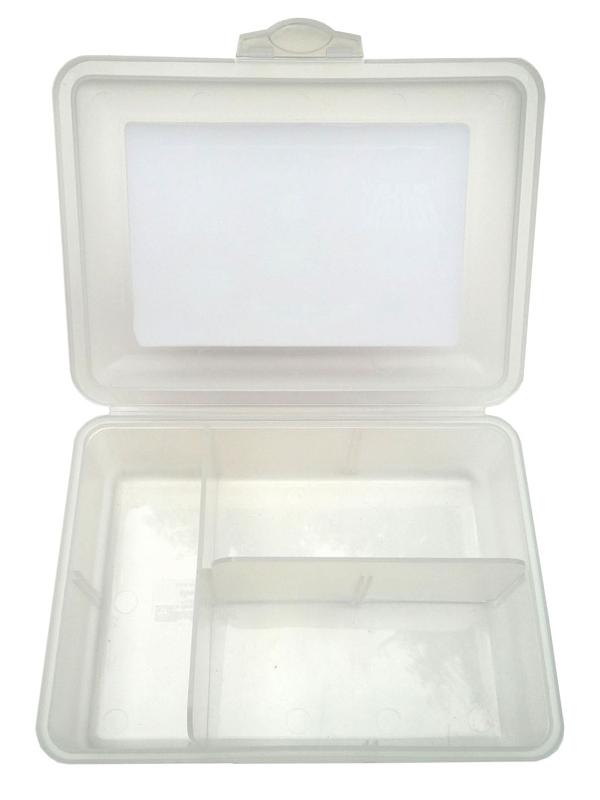 rechtwinklige Aufteilung der Lunchbox