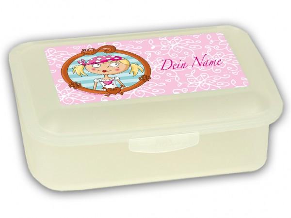 """Brotdose klein """"Wandpiraten Lulu - die Süßeste"""", mit Namen"""